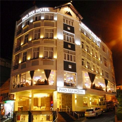 Khách sạn Phố Núi Đà Lạt tiêu chuẩn 3* đối diện Hồ Xuân Hương