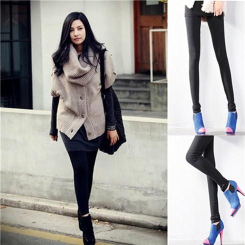 Quần legging lót nỉ ấm áp, mềm mại cho bạn gái (02 quần)