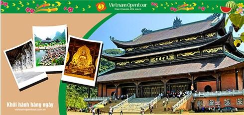 Nhóm Mua - Tour Bai Dinh - Trang An 1 ngay - VietNam Opentour