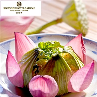 Nhóm Mua - Buffet chay trua/toi Nha hang Co Noi - KS Bong Sen Annex