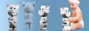 MÈO TOM BIẾT NÓI TALKING TOM CAT