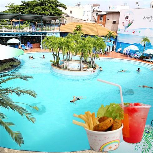 Cùng bơi, ăn và chơi tại Hồ bơi Câu lạc bộ Lan Anh