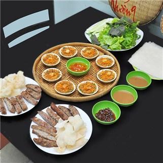 Nhóm Mua - 2 Phan Nem Lui Nuong + 1 Mam Banh Beo Nho - Quan An Quy Nhon