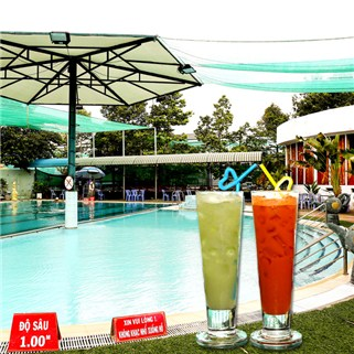 Nhóm Mua - Combo ve boi + tap gym + nuoc uong tu chon Ho Boi Ky Hoa 2