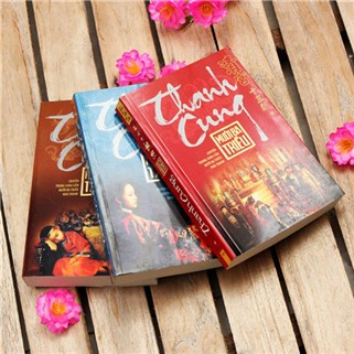 Nhóm Mua - Bo sach Thanh Cung 13 Trieu – 3 tap tai Huy Hoang Bookstore