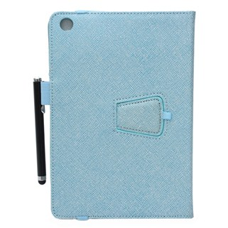 Bao da Ipad mini Ipearl Leather case With Stand - Blue