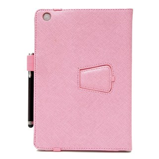 Bao da Ipad mini Ipearl Leather case With Stand - Pink