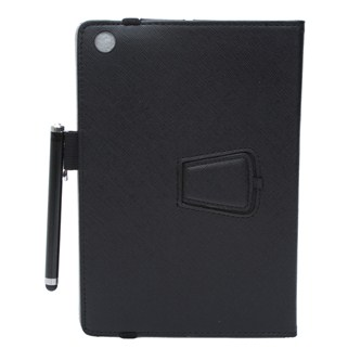 Bao da Ipad mini Ipearl Leather case With Stand - Black