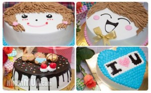 BÁNH KEM LOVE CAKE