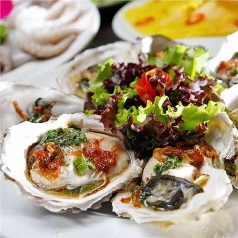 Buffet tối Hải sản + Ốc + Nướng + Xiên que - NH Tân Hoa Cau