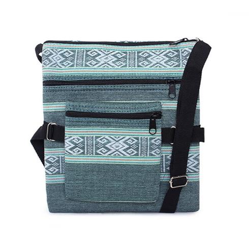 Túi đeo chéo thổ cẩm Vn's Love MS11