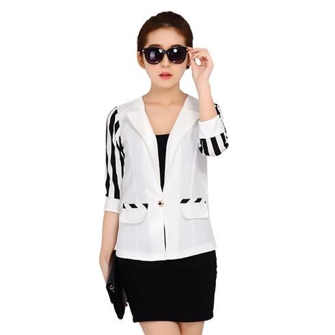 Áo vest nữ thời trang Hàn Quốc - màu trắng