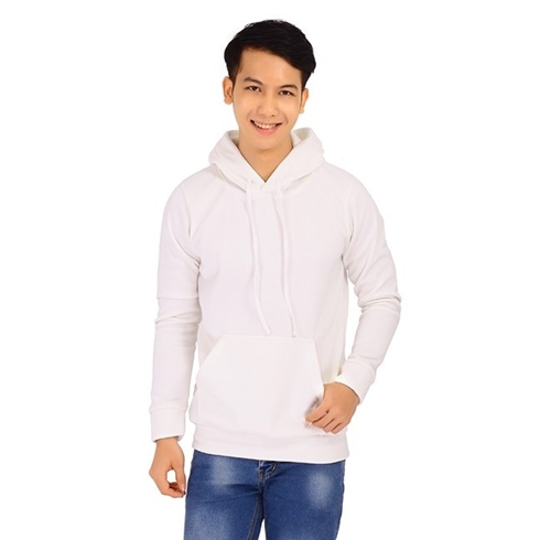 Áo khoác nam hoodie màu trắng Cirino