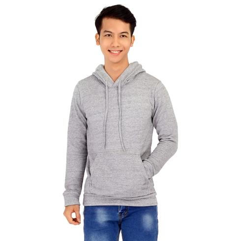Áo khoác nam hoodie màu xám Cirino