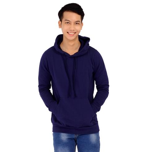 Áo khoác nam hoodie màu xanh đen