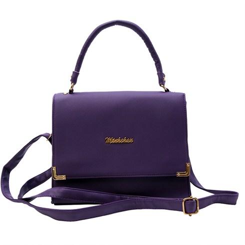 Túi xách nữ Minh Châu thời trang 90KH01 - tím