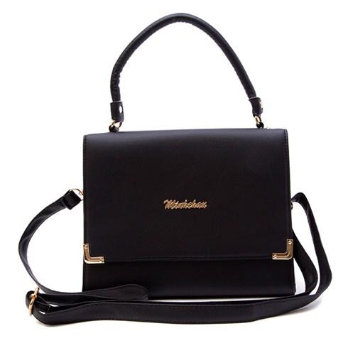 Túi xách nữ Minh Châu thời trang 90KH01 - đen