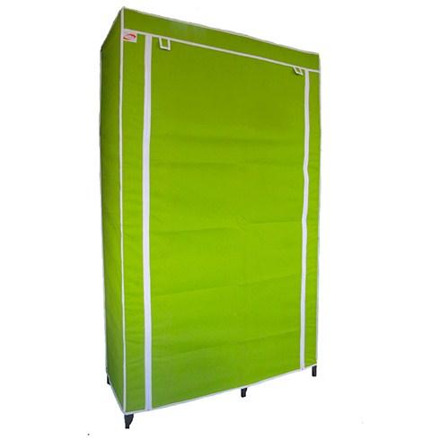 Tủ vải cao cấp hiệu Thanh Long 100 x 46 x 170cm - Xanh lá