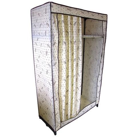 Tủ vải Thanh Long cao cấp 100x46x158 (cm) - Mặt cười