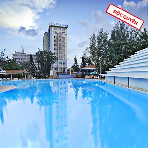 DIC Star Hotel 4* Vũng Tàu sát biển tặng voucher 200.000đ