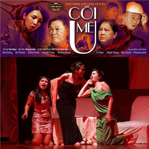 2 vé xem kịch kinh dị/hài/tình cảm tại Tâm Ngọc Home Theatre
