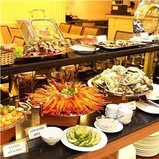 Nhóm Mua - Buffet trua 50 mon tai Blue Diamond Hotel 3*