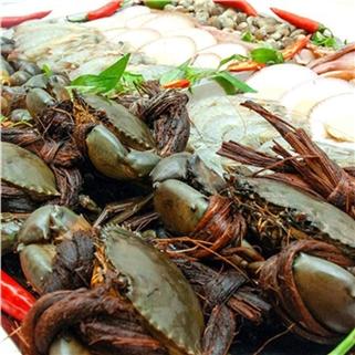 Nhóm Mua - Buffet toi lau + nuong 60 mon tu chon - Nha hang Tan Hoa Cau