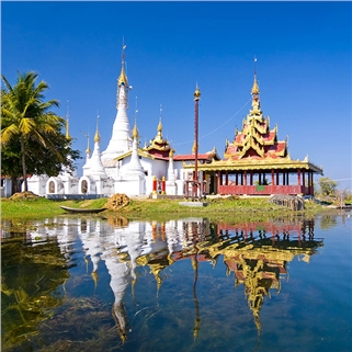 Nhóm Mua - Tour Myanmar Yangon - Bago - Chua Vang 4N3D (ve bay khu hoi)