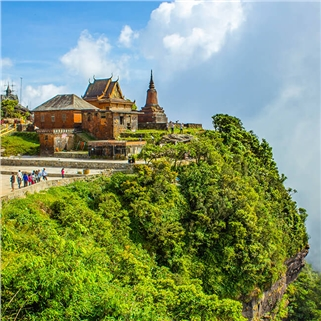 Nhóm Mua - Tour Campuchia hoang so huyen bi - Bien Kep 3N3D
