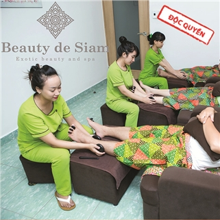 Nhóm Mua - Massage Foot kieu Thai 60 phut - Beauty De Siam Spa
