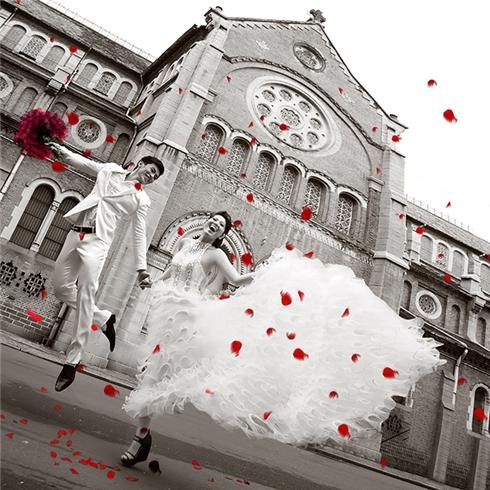 Chụp ảnh cưới ngoại cảnh trọn gói tại Studio Quỳnh Anh