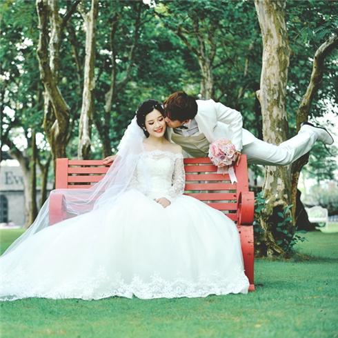 Chụp ảnh thử làm cô dâu và chủ rể tại Uyên Phương Studio