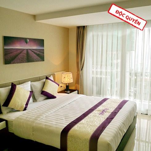 Khách sạn Lavender Nha Trang 3* vị trí sát biển