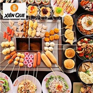 Nhóm Mua - Buffet Nhat Han goi mon (150 mon) va trang mieng tai Xien Que