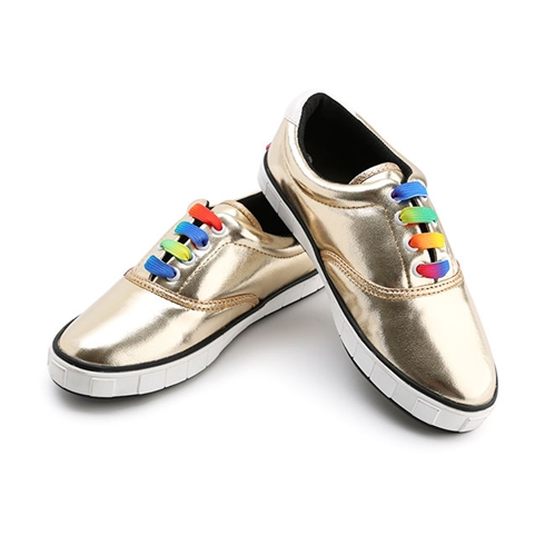 Giày Sneakers VNXK thương hiệu Andofa - vàng