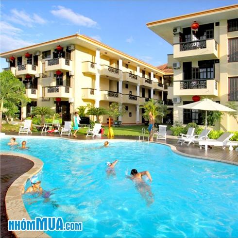 Phòng Deluxe Pool - Phú Thịnh Boutique Resort và Spa Hội An 4*