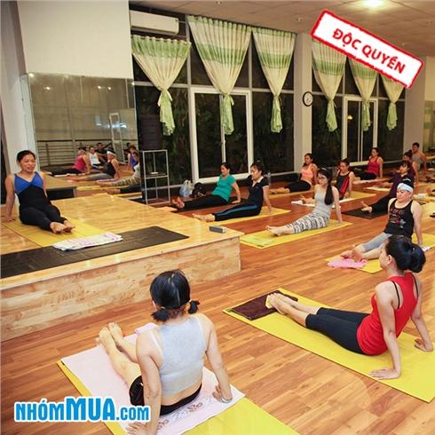 1 tháng tập Yoga/ Yoga văn phòng tại Gym 9999 - Free xông hơi