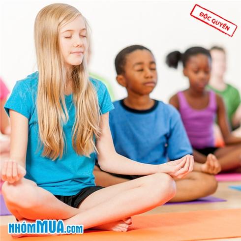 1 tháng tập Yoga cho thiếu nhi (6 - 14 tuổi) tại Gym 9999