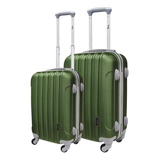 Nhóm Mua - Bo 2 vali keo du lich TRIP P603 - xanh reu ( 50 + 60 cm)