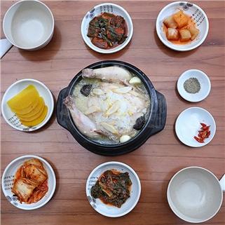 Nhóm Mua - Ga tan ham sam Han Quoc – Nha hang Kimchi Kimbab