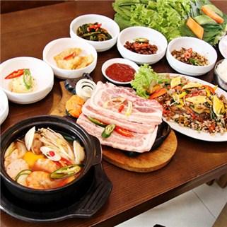 Nhóm Mua - 01 trong 02 set an tu chon tai Nha Hang Suon nuong Han Quoc