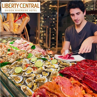 Nhóm Mua - Buffet trua thu 2 - thu 6 - Liberty Central Saigon Riverside
