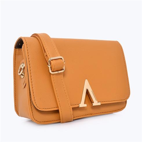 Túi xách nữ chữ V thời trang Sky bò MS12