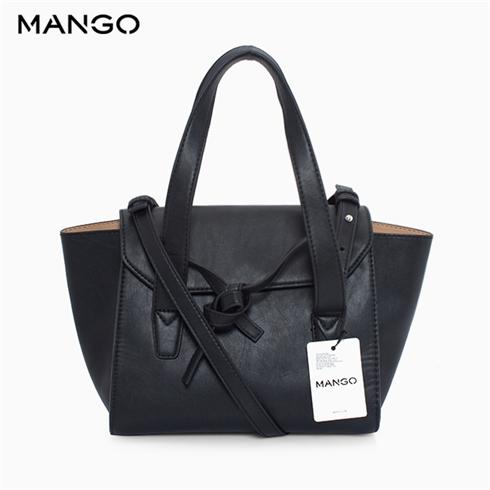 Túi xách MANGO chính hãng 43080349 - màu đen