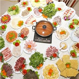 Nhóm Mua - Thuong thuc buffet lau (hon 70 mon) - Nha hang Nam Son