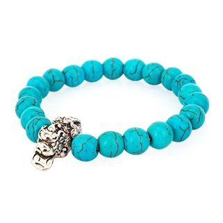Nhóm Mua - Lac tay da Turquoise xanh tu nhien charm ty huu