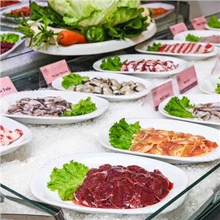 Nhóm Mua - Buffet Sashimi, Hai San, BBQ va Lau hon 100 mon - NH Nam Son