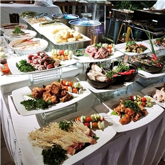 Nhóm Mua - Buffet BBQ, Hai San cho Valentine tai Wabar Sai Gon