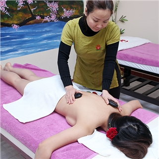 Nhóm Mua - Tron goi massage body + foot + dap paraffin 90 phut -Hana Spa