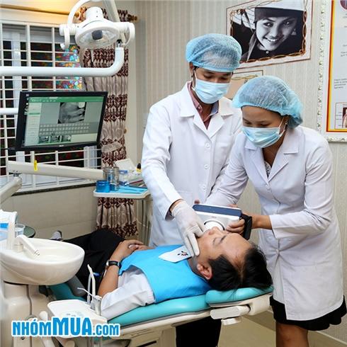 Tẩy trắng răng bằng đèn Plasma tại Nha khoa Á Âu